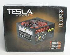 NEW TESLA 500TR-BR 500W ATX 120mm 2x SATA Silent Desktop PC Power Supply Unit