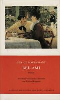 *w- MANESSE Bibliothek der WELTLITERATUR - Bel-AMI - Guy de MAUPASSANT  - gebund