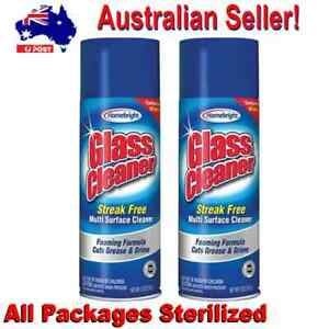 Homebright  Foaming Streak Free Glass Cleaner No CFCs Good as Windex
