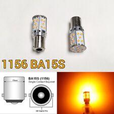 Backup Reverse Light 1156 BA15S 7506 3497 P21W 35 SMD Amber LED Bulb K1 K