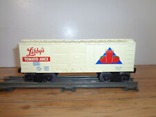 LIONEL O GAUGE # 6050 LIBBY'S TOMATO JUICE SAVINGS BANK BOX CAR