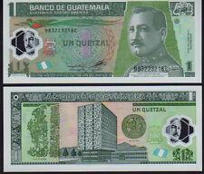 Guatemala, 1 Quetzal 2012 Polymer Picknew Mint Unc