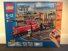 LEGO CITY 3677 Red Cargo Train BNIB! SEND OFFERS! Melb Pick Up Available