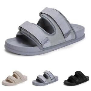 Summer Men Beach Slippers Shoes Open Toe Walking Sports Flats Breathable Comfy B