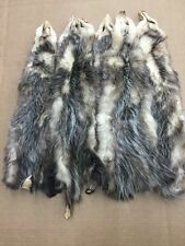 Garment Tanned Grade #2 American Opossum - Professionally Tanned Animal Hide -