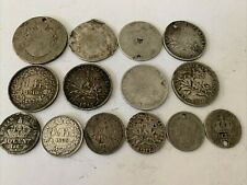 More details for pre 1920 old silver french coins 58 gms