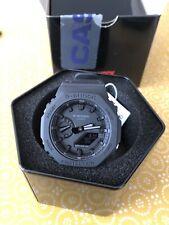 Casio G-shock GA-2100-1A1ER Reloj-Triple Negro Mate 100% Genuino!