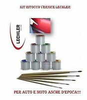 COLORE KIT VERNICE RITOCCO 50 GR LECHLER FIAT GROUP N 677/A GRIGIO OPACO