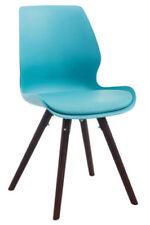 Chaises bleu en plastique pour le bureau