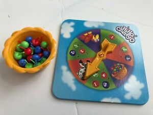 Hi Ho Cherry-o Bucket, Spinner, Red Blue Green Cherries Game Pieces Replacement