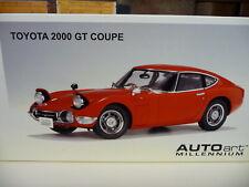 1:18 AUTOart Toyota 2000 GT Coupe Erste Auflage 1.Edition Diecast NEU NEW