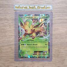 MINT/NM Condition Leafeon EX 10/83 Holo/Shiny Pokemon Card, Generations, Rare