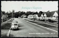 c.1960 Gloucester Crescent South Wigston Leicestershire Postcard C758