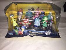 Disney Store Pixar Inside Out Deluxe Figure Set Pkg Dmg Cake Toppers Free Ship