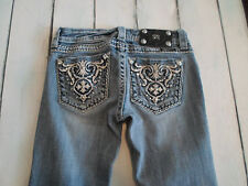 MISS ME WOMENS JEANS STRAIGHT TAG: 26 - ACTUAL SIZE 26X27
