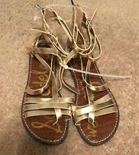 SAM EDELMAN Studded gold  Sandals Flats Shoes Size 7.5