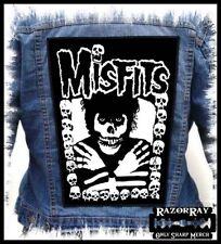 MISFITS - Skulls --- Huge Jacket Back Patch Backpatch