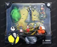DISNEY Parks NIGHTMARE BEFORE CHRISTMAS Figure Play SET Cake TOPPER In Box NEW