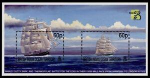 British Indian Ocean Terr 217 MNH Sailing Ships, Cutty Cark, Thermopylae
