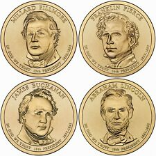 2010 (13th to 16th) US President - Four $1's Uncirculated Coin