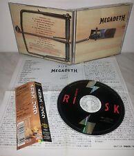 CD MEGADETH - RISK - JAPAN - TOCP-65272