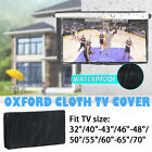 TV Cover Black Outdoor Waterproof Television