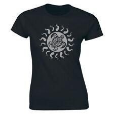 Tribal Hawaii Polynesian Maori Sun Sea Turtle 2 Side Island T-shirt Women's Tees