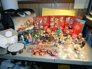 INFINITY DISNEY CHARACTERS , CARS , CRYSTAL , IFINITY 3.0 DISC , PORTALS , CASE
