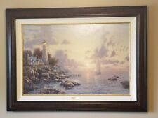 "Thomas Kinkade Sea of Tranquility on 24"" x 36"" canvas, gallery proof 273/2100."