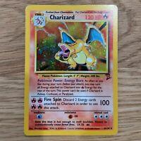 Charizard Base Set 2 4/130 Pokemon Card MP Nice Holo *RARE* See Pics