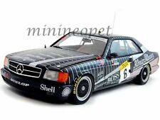 AUTOart 88932 MERCEDES BENZ 500 SEC AMG SPA RACE 1989 #6 1/18 DIECAST CAR BLACK
