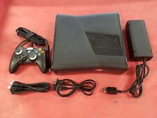 Microsoft Xbox 360 S Slim 320GB Matte Black Video Game Console System Gaming
