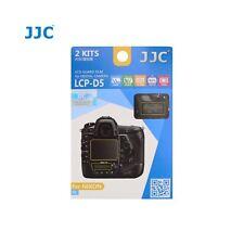 JJC LCP-D5 LCD Screen Protector Guard Film Cover for Nikon D5 DSLR Camera