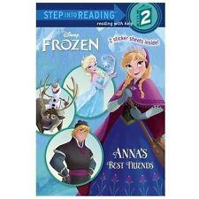 Anna's Best Friends (Disney Frozen) (Step into Reading), Webster, Christy, Good