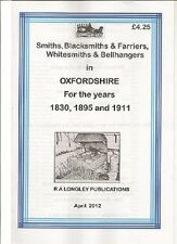 Smiths /& Farriers A-Z 1907 in Surrey Blacksmiths Kelly/'s Directories