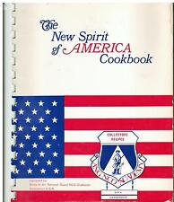MARYVILLE TN NEW SPIRIT OF AMERICA NCO COOKBOOK AIR NATIONAL GUARD WIVES VINTAGE
