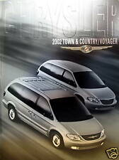 2002 Chrysler Town & Country/Voyager sales brochure