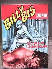 SUPER BILLY BIS Editrice Universo 1972 N 11 Fumetti Narrativa per Ragazzi di e