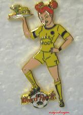 Hard Rock Cafe LEEDS Soccer waitress Pin .