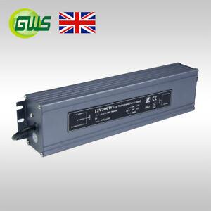 IP67 Waterproof LED 12V Strip Transformer/Power Adaptor/Driver 80W/120W/200W
