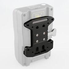 CAMVATE V-Lock Quick Release Plate for V-mount Battery Grip Cage Shoulder DSLR