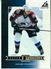 Peter Forsberg 1997-98 Pinnacle Zenith Dare to Tear 5x7 Colorado Avalanche #Z19