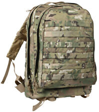 Rothco Tactical MOLLE II 3 Day Assault Pack Backpack in Crye MultiCam