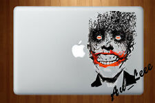 Macbook Air Pro Skin Sticker Decal - Joker bat Villain  #CMAC127