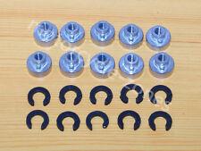 10 Fender Seat Nut Kits for Harley Sportster Dresser Dyna Softail 10 Pack Sets