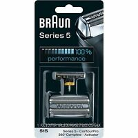 Braun Foil and Cutter Set - Silver