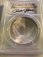 PETE ROSE 2014 Silver $1 coin RARE MS69 HOF Baseball Hall Fame PCGS PETE ROSE