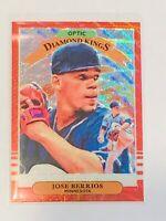 2019 Donruss Optic Diamond Kings #7 Jose Berrios, Red Wave Parallel