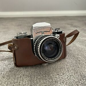 [FILM TESTED] Exakta Varex IIa Film Camera 35mm +Carl Zeiss Fiktogon Lens 2.8/35