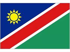 Large Namibia Flag  5' x 3' eyelets Premium Quality - free UK 1st class delivery